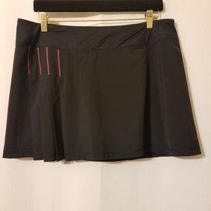 ATHLETA Womens Second Wind Tennis Skort Skirt